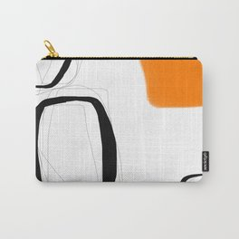 Blocks-Orange Crowd  Carry-All Pouch
