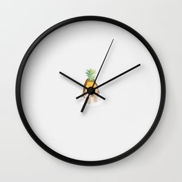 I am shy again Wall Clock