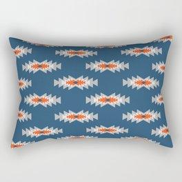 Minimal ethnic pattern Rectangular Pillow