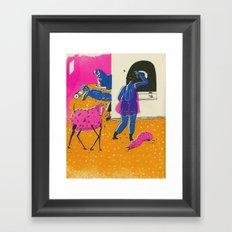 domesticity Framed Art Print
