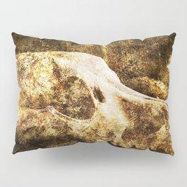 Vintage Skull Pillow Sham