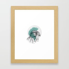 Just a little eagle Framed Art Print