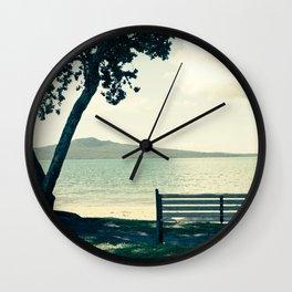 Take a Seat Wall Clock
