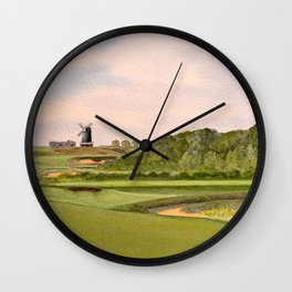 National Golf Links Of America Wall Clock