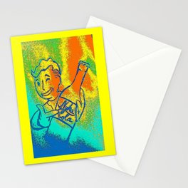 nuka cola fan art-fallout games inspired Stationery Cards