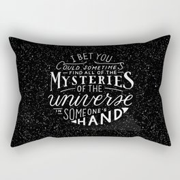 All of the Mysteries of the Universe Rectangular Pillow