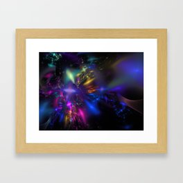 Star Death Framed Art Print