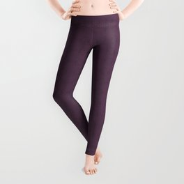 Organic Purple Leggings