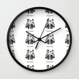 Fernie Sanders Wall Clock