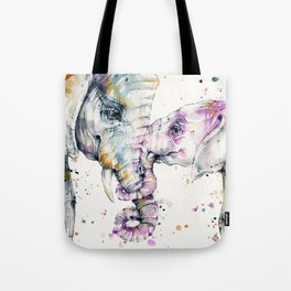 That Type Of Love (Elephants) Tote Bag