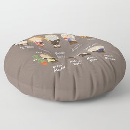science Floor Pillow