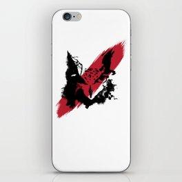 OWL FACE - BUBO² iPhone Skin
