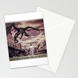 Jesus Skywalker Stationery Cards