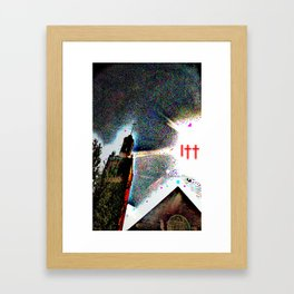 I†† Framed Art Print