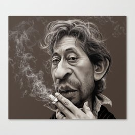 Gainsbourg Canvas Print