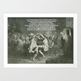 Tam O'Shanter Burns Night Celebrations Art Print