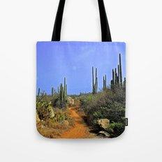 Desert Pathway Tote Bag