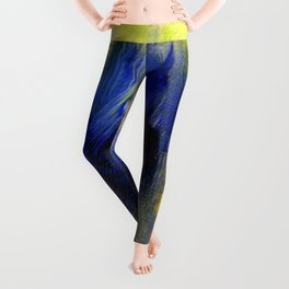 Abstract 9649 Leggings