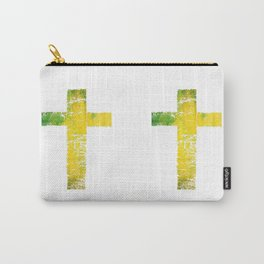 THE CROSS/yellow Carry-All Pouch