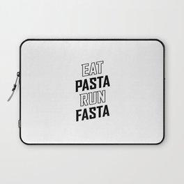 Eat Pasta Run Fasta v2 Laptop Sleeve