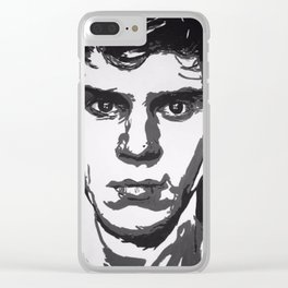 Evan Peters Clear iPhone Case