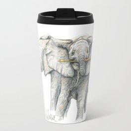 Baby Elephants! Travel Mug