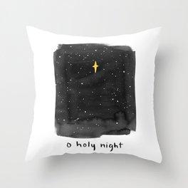 O Holy Night Throw Pillow