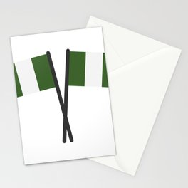 nigeria flag Stationery Cards