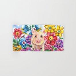 Penelope Pig Hand & Bath Towel