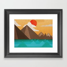 Let the Sun Touch you in the Morning  Framed Art Print