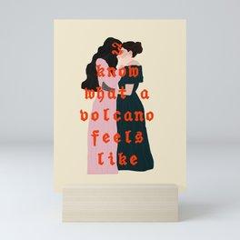 emily and sue / dickinson Mini Art Print