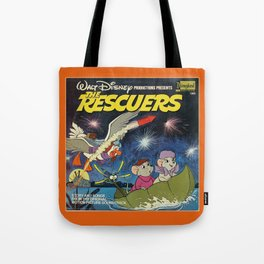 the rescuers kids pillow Tote Bag