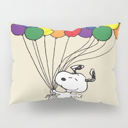 snoopy balloon Pillow Sham