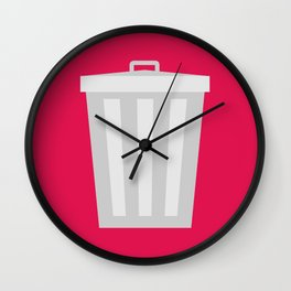 #57 Trashcan Wall Clock