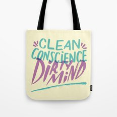 Clean/Dirty Tote Bag
