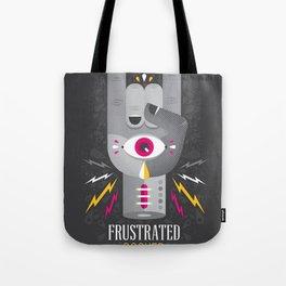 Frustrated Rocker Tote Bag