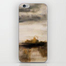 Steppe landscape iPhone Skin