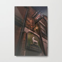 English Pub sign Metal Print