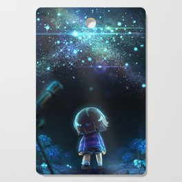 Starry (Night) Undertale Cutting Board