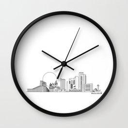 Skyline - Maracaibo Wall Clock