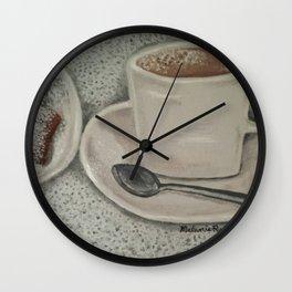 Beignets & Cafe Au Lait Wall Clock