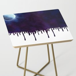 Painted Space Side Table