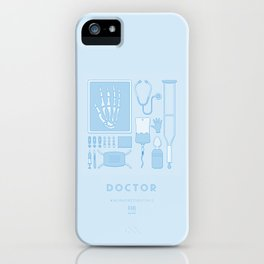 #WorkerEssentials - Doctor iPhone Case