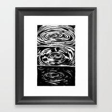 Into the Depths Framed Art Print