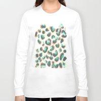 leopard Long Sleeve T-shirts featuring Leopard by Jacqueline Maldonado