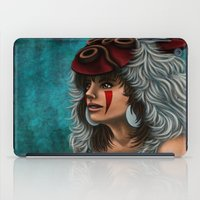 princess mononoke iPad Cases featuring .:Princess Mononoke:. by Kimberly Castello