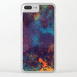 Paint Clear iPhone Case