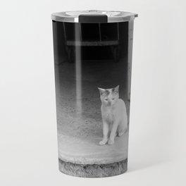 Arab kitty Travel Mug