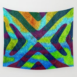 Obfuscated Continuity II Wall Tapestry