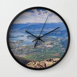 Summit County Panorama Wall Clock